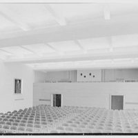 Flower Hospital, 5th Ave. hospital, New York Medical College, 106th St. near 5th Ave., New York City. Auditorium, from stage