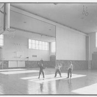 Harrison High School, Harrison, New York. Gymnasium