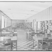 Harrison High School, Harrison, New York. Library
