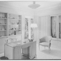 Harry R. Playford, residence at 415 Brightwaters Blvd., St. Petersburg, Florida. Den