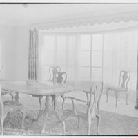 Harry R. Playford, residence at 415 Brightwaters Blvd., St. Petersburg, Florida. Dining room