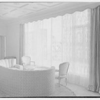 Harry R. Playford, residence at 415 Brightwaters Blvd., St. Petersburg, Florida. Living room window