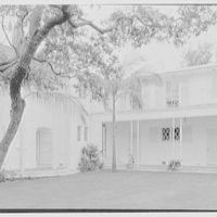 Harry R. Playford, residence at 415 Brightwaters Blvd., St. Petersburg, Florida. Patio I