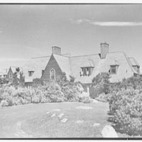 Henry W. Bagley, residence on Fishers Island, New York. Entrance view I