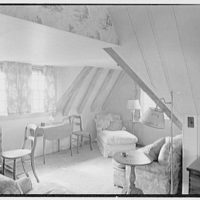 Henry W. Bagley, residence on Fishers Island, New York. Main house, Mrs. Bagley's bedroom I