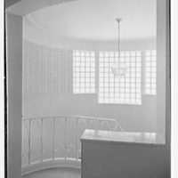 Herman Wall, residence at 245 E. Rivo Alta Dr., Miami Beach, Florida. Upper hall