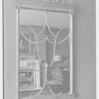 H.T. Lindeberg, residence at 333 E. 57th St., New York City. Living room mirror
