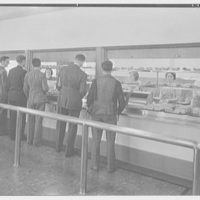 Iona School science building, New Rochelle, New York. Cafeteria