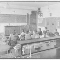 Iona School science building, New Rochelle, New York. Chemistry room