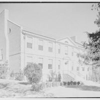 Iona School science building, New Rochelle, New York. General view from left