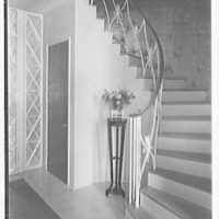 John W. Bullock, residence at Sunset Island, no. 2, Miami Beach, Florida. Staircase I