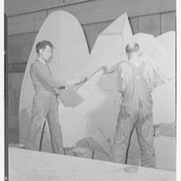 Juilliard School of Music, 130 Claremont Ave., New York City. Set painting