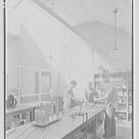 Kent School, Kent, Connecticut. Auditorium building, physics laboratory section