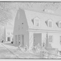 Kent School, Kent, Connecticut. Library, from southwest