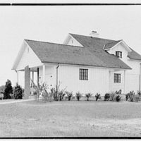 Lifehouse no. 4, Nassau Shores, Massapequa, Long Island. Rear from left