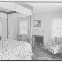 Mrs. Alexander G. Walcott, residence in Norfolk, Connecticut. Bedroom