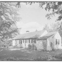 Mrs. Alexander G. Walcott, residence in Norfolk, Connecticut. West facade