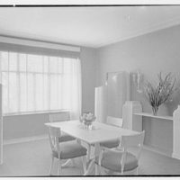 Mrs. Charles S. Payson, residence in Hobe Sound, Florida. Dining room (revised view)