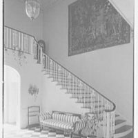Mrs. Francis A. Shaughnessy, residence on Ocean Blvd., Palm Beach, Florida. Entrance hall I
