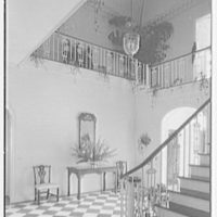 Mrs. Francis A. Shaughnessy, residence on Ocean Blvd., Palm Beach, Florida. Entrance hall II