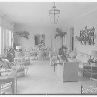 Mrs. Francis A. Shaughnessy, residence on Ocean Blvd., Palm Beach, Florida. Loggia II