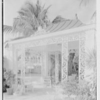 Mrs. Francis A. Shaughnessy, residence on Ocean Blvd., Palm Beach, Florida. Pavilion detail, vertical