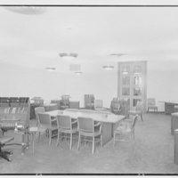 National Cash Register Co., 50 Rockefeller Plaza. Bank sales room