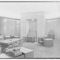 National Cash Register Co., 50 Rockefeller Plaza. End of salon I