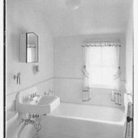 New Brunswick Housing Authority. Reed Court, apartment J, bathroom