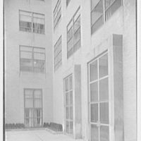 New York Medical College, 106th St. near 5th Ave., New York City. Sharp view of entrance doors