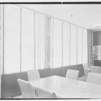Northam Warren Corp., Barry Place, Stamford, Connecticut. Customer's room, to windows
