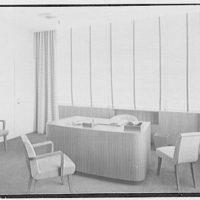 Northam Warren Corp., Barry Place, Stamford, Connecticut. Mr. Warren's office, to desk