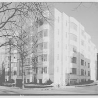 Potomac Electric Power Co. apartments and kitchens. Cafritz Quarry Rd. apartments, interiors and exteriors III