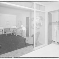 Potomac Electric Power Co. apartments and kitchens. Cafritz Quarry Rd. apartments, interiors and exteriors II