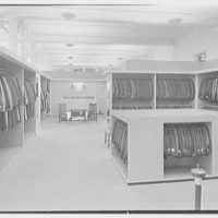 Sachs Quality Furniture Inc., business at 150th and 3rd Ave., New York City. Second floor, men's apparel
