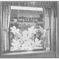 Schrafft's, 61 5th Ave., New York City. Candy show window