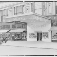 Schrafft's, Broadway and 82nd St., New York City. Exterior from right