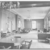 Silliman College, Yale University, New Haven, Connecticut. Commons room, general