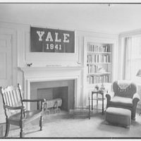 Silliman College, Yale University, New Haven, Connecticut. Silliman room, 1888