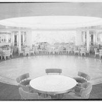 S.S. America, United States Lines. Ballroom II