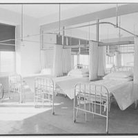 Triboro Hospital for Tuberculosis, Parsons Blvd., Jamaica, New York. Typical six-bed ward II