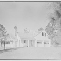 William H. Barnum, residence in Southern Pines, North Carolina. Servants' cottage