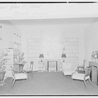 World's Fair, America at home. Mary Miller room