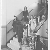 Academy of the Holy Child, 430 Riverside Dr., New York City. Staircase