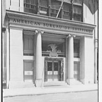 American Bureau of Shipping, 47 Beaver St., New York City. Lower part