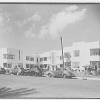 Apartment, 16th and Meridian Ave., Miami Beach, Florida. General view