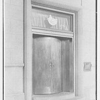 Bank of the Manhattan Company, Bayside, Long Island. Entrance detail