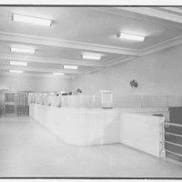 Bank of the Manhattan Company, Bayside, Long Island. Interior I