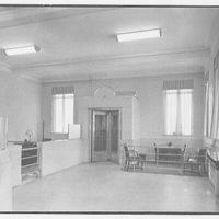 Bank of the Manhattan Company, Bayside, Long Island. Interior II
