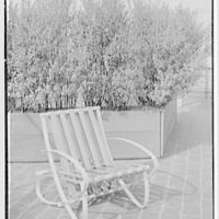 Bloomingdale Brothers, business in New York City. Terrace furniture, Fresnado